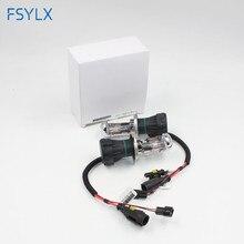 цена на FSYLX 55W H4 HID xenon bulb lamp HID Xenon head light Car h4 xenon Headlight bulb 10000k Auto car Xenon Headlight Bulb