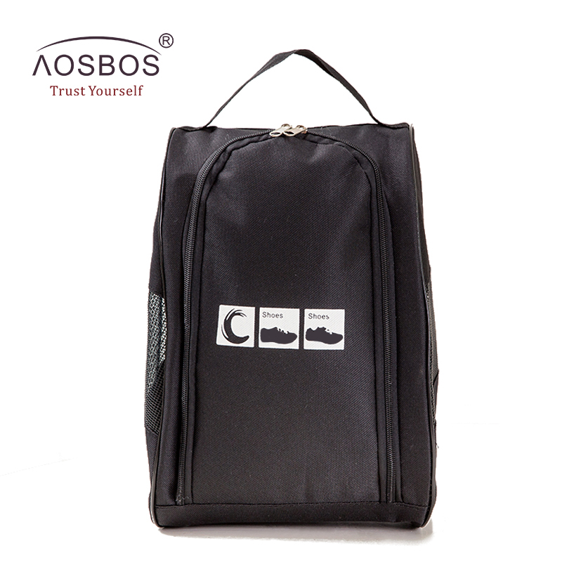 Aosbos Sports պայուսակներ Կանացի տղամարդկանց Oxford պայուսակ կոշիկների համար Անջրանցիկ թեթև մարզասրահ Սպորտային պայուսակ Duffel Travel Training Fitness Bag