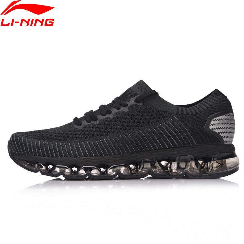 Li-Ning Men LN ARC 2018 Cushion Running Shoes Wearable Breathable Sneakers Sock-Like Fitness Sports Shoes ARHN035 XYP629 li ning original men sonic v turner player edition basketball shoes li ning cloud cushion sneakers tpu sports shoes abam099