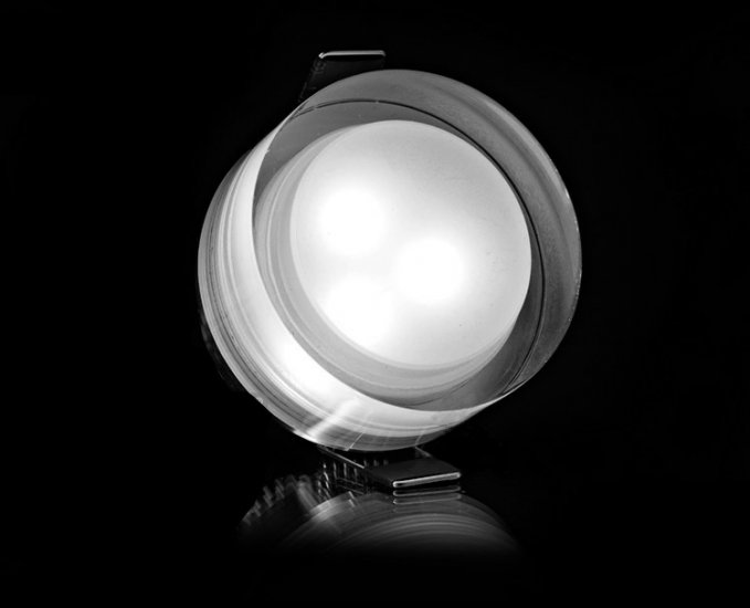 Hot Sale !!! 3W Crystal Acrylic LED Recessed Ceiling Light Cabinet Fixture Lamp Bulb hot sale c shaped waterfall acrylic occasional side table