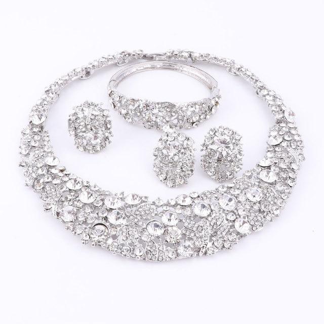 Clory Crystal Beads Jewelry Set 2