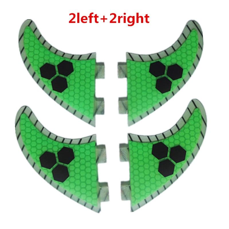4 stücke Heißer verkauf carbon fiber quilhas de surf waben fcs surfbrett flossen ruder pranchas de sup flossen surf flossen g5 T
