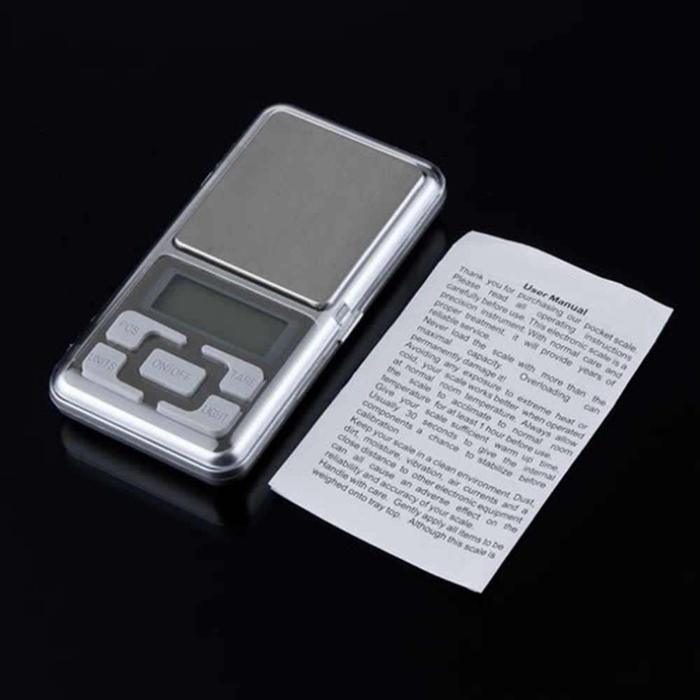 1 шт. 500 г 0,1 г весы электронные мини Цифровые Карманные ювелирные изделия Diomand балансовая цифровая шкала ювелирные изделия Новинка 2017 года Прямая поставка