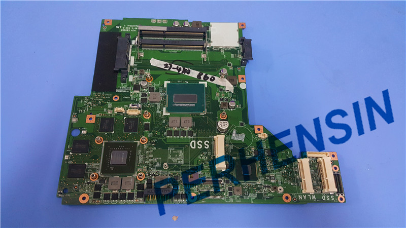 Original For MSI GE70 LAPTOP MOTHERBOARD WITH I7 CPU MS-17591 MS-1759 100% Work Perfectly