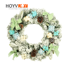 HOYVJOY Silk Artificial Flowers Wreaths Door Perfect Quality Garland For Wedding decoration Home Party Decor