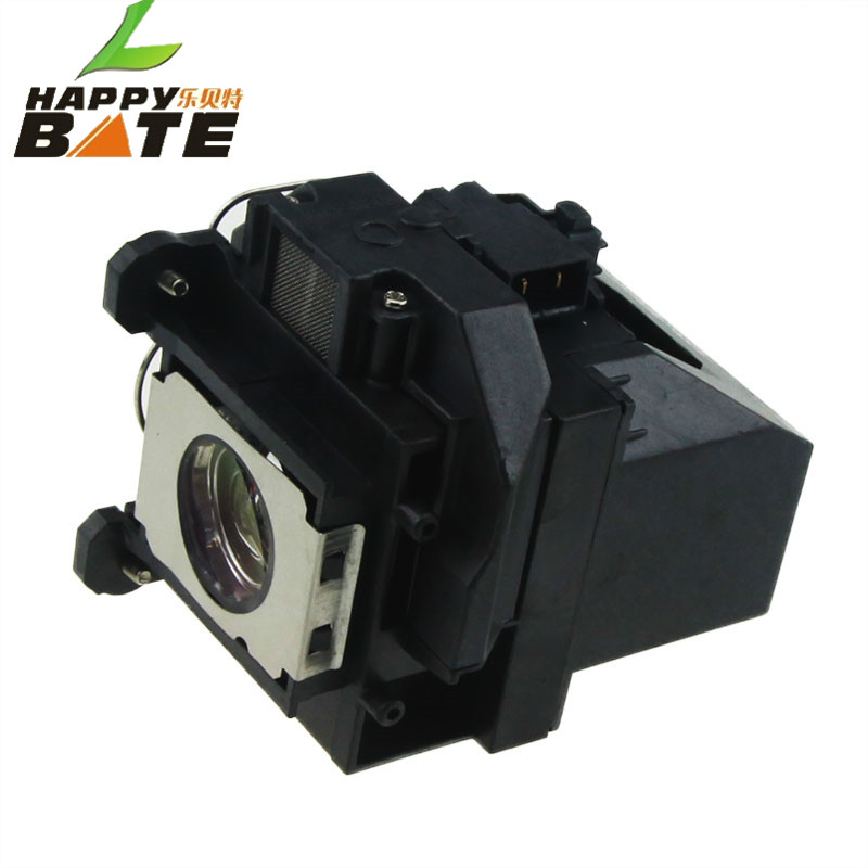 HAPPYBATE ELPLP57/V13H010L57 Compatible Lamp with Housing for EB-440W EB-450W EB-450WI EB-455WI EB-460 EB-460I EB-465I original projector bulb elplp57 for epson eb 440w eb 450w 450wi 455wi eb 460 460i eb 465i 450we