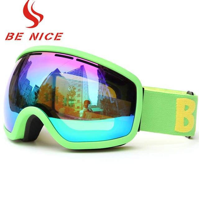 d638aaae49e placeholder BENICE SNOW-2706 Skiing Goggles Anti-fog Big Ski Mask Glasses  Skiing Eyewear Snow