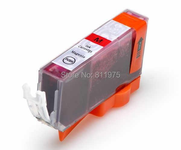 PGI-5 5BK CLI-8 4 Warna Tinta Kompatibel Cartridge untuk Canon PIXMA IX4000 IX5000 IP3300 IP3500 MP510 MP520 MP520X MX700 Printer