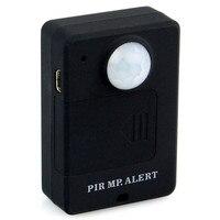 Мини GSM PIR сигнализация датчик движения сигнализация инфракрасный Беспроводной GSM сигнализация Anti-theft детектор движения с ЕС Plug высокая чувс...