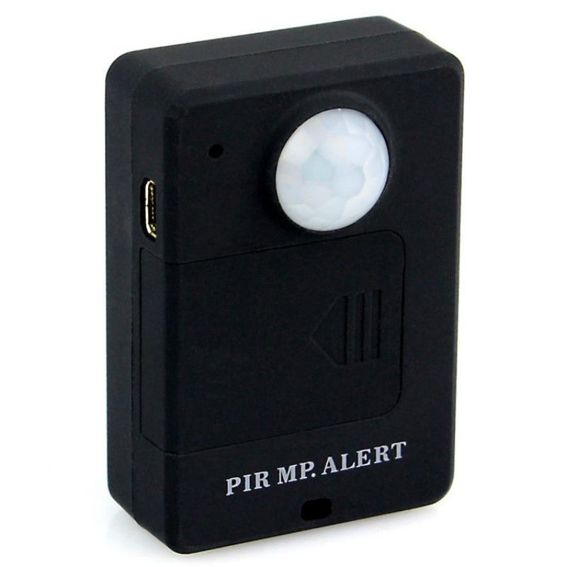 Mini Alarme GSM PIR Motion Sensor Infravermelho Alarme GSM Sem Fio do Alarme Anti-roubo Detector De Movimento Com UE Plug Alta sensibilidade