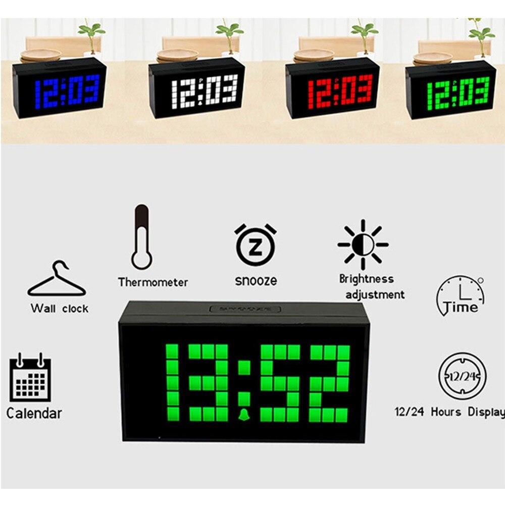 KOSDA One piece Smart radio alarm clock solar alarm clock snooze lazy alarm clock night light mute in Alarm Clocks from Home Garden