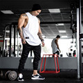Gold's bodybuilding Men's cotton Muscle superman male fitness khan sleeveless vest polyamide cultivate one's morality tank