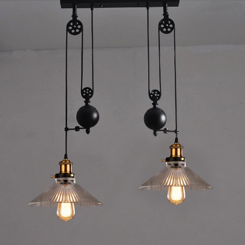 subida y bajada de la cocina cocina luces luces poleas estilo retro subida y cada de