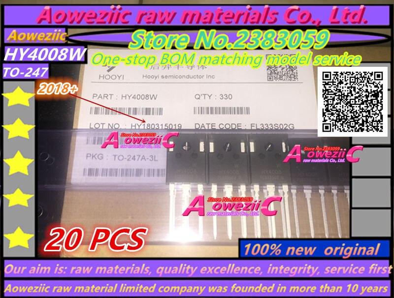 100% חדש מקורי MOSFET HY4008 HY4008W 80V 200A TO-3P מהפך - משחקים ואביזרים