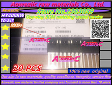 100% nou original MOSFET HY4008 HY4008W 80V 200A TO-3P invertor Ultra chip