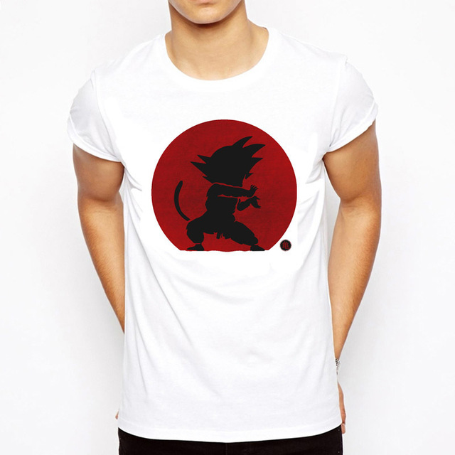 Dragon Ball T Shirt Men Summer Dragon Ball Z super son goku Slim Fit Cosplay 3D T-Shirts vegeta Tshirt Homme 1