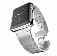 New Arrival Luxury Watchband Metal Straps For Apple Watch Band 38 42 Mm Stainless Steel Link