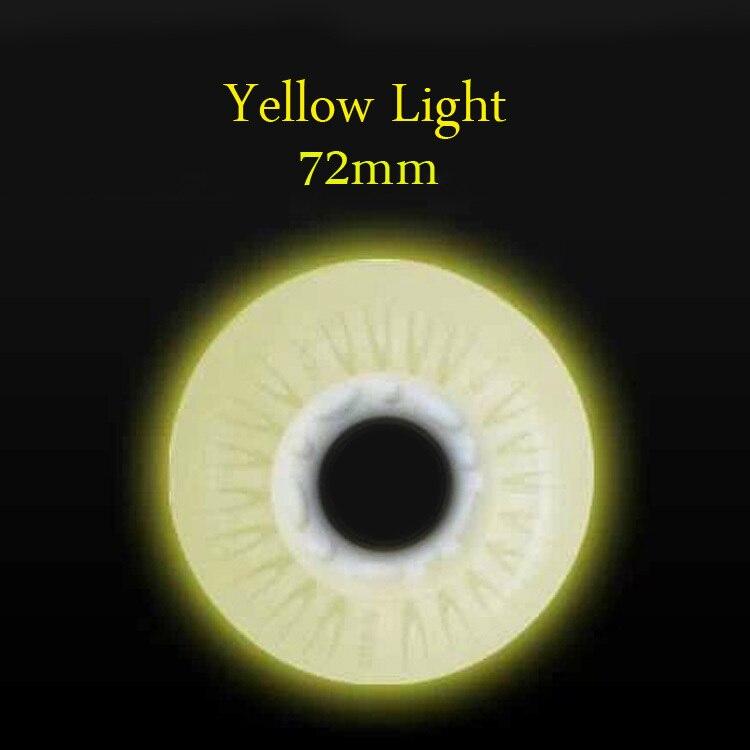 Yellow of 72mm