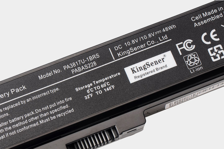 KingSener PA3817U Laptop Batteri för TOSHIBA L630 L650 L645 L655 - Laptop-tillbehör - Foto 6