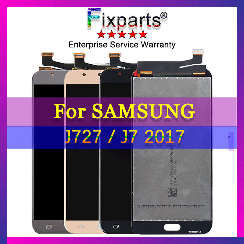 For SAMSUNG GALAXY <font><b>J7</b></font> SKY <font><b>Pro</b></font> J727 <font><b>LCD</b></font> Display With Touch <font><b>Screen</b></font> Digitizer Assembly <font><b>Replacement</b></font> Parts For SAMSUNG J727 <font><b>LCD</b></font> image