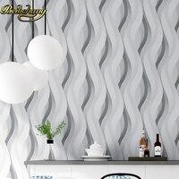 beibehang 3d papel de parede woven metallic glitter off white silver wide stripe modern wallpaper background wall coverings