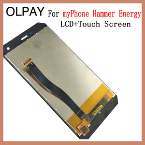 Image 3 - OLPAY 5.0 New Original For myPhone Hammer Energy CellPhone LCD Display + Touch Screen Digitizer Assembly Replacement Glass