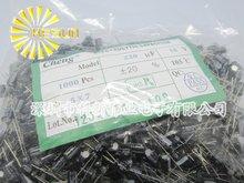 1000 шт. X 100% Новое Chengx 220 МКФ 10 В 5X7 Алюминиевый Электролитический Конденсатор Разъем