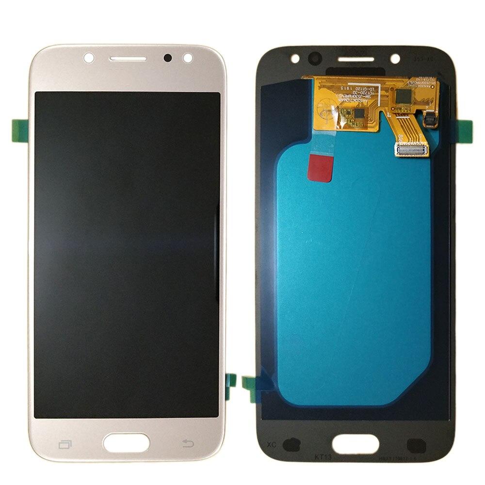 J530 AMOLED LCD pour SAMSUNG J5 pro 2017 LCD écran tactile numériseur assemblée J530F J530H J530FN J530M J530Y J530G LCD