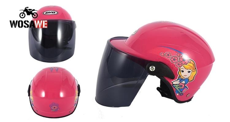 Image 2 - BYB/детский шлем, нарисованный шлем, мотоциклетный велосипедный шлем, шлем для мальчиков и девочек, детская Кепка для скейтборда, детские шлемы для скутеров 2 8 лет-in Шлемы from Автомобили и мотоциклы