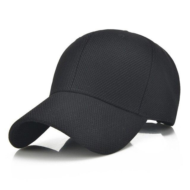 mens style baseball caps hats summer unisex women men cotton breathable mesh cap bone golf hat