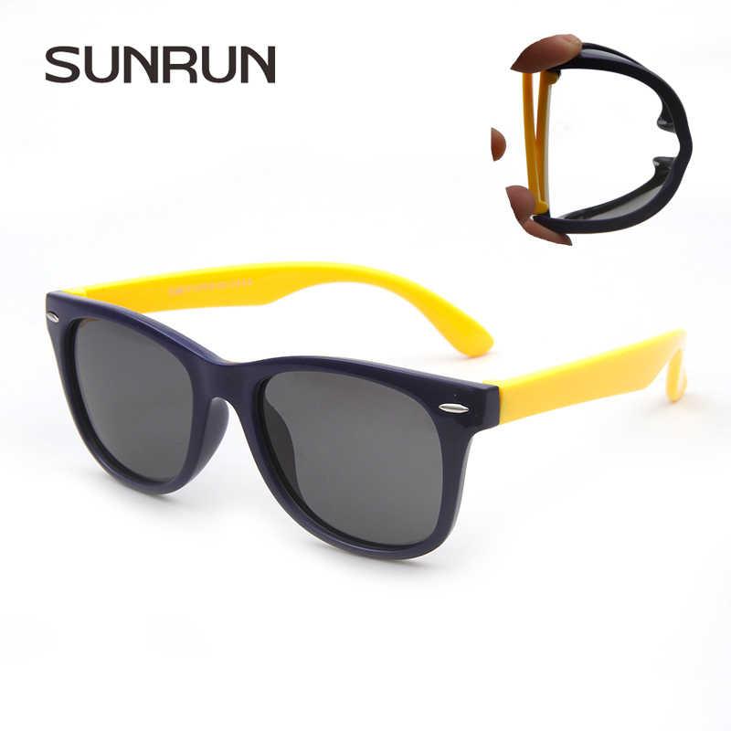1f2179a7578 SUNRUN Children Polarized Sunglasses TR90 Baby Classic Fashion Eyewear Kids Sun  glasses boy girls sunglasses UV400