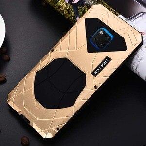 Роскошный IMATCH оригинальный армейский водонепроницаемый металлический и силиконовый чехол для телефона Huawei Mate 20 Mate 20X Mate 20 Pro P20 Pro P20 P20 JS0036