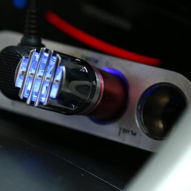 12V Air Purifier Air Freshener Ozone Generator Auto Car Fresh Air Ionic Purifier Oxygen Bar Ozone Ionizer Air Cleaner Ozonator
