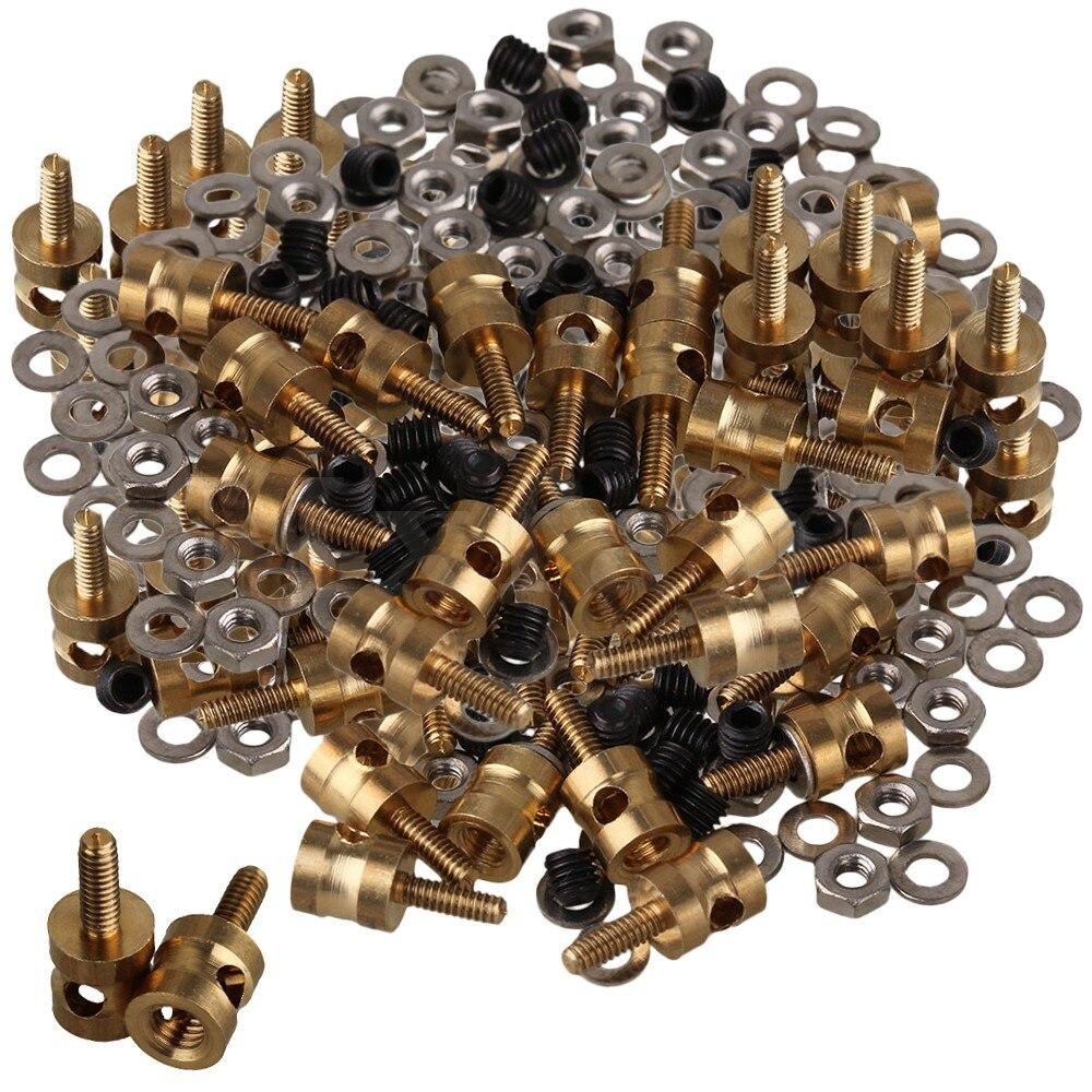 Mxfans Metal RC Model Linkage Stopper Servo Screws Nuts for RC Airplane towerpro mg90 rc micro servo metal gear for rc model