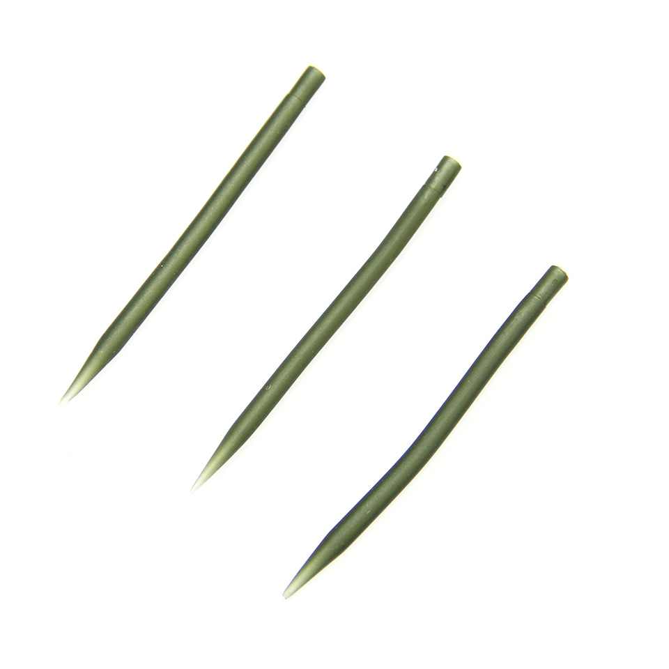 Anglerdream 20pcs anti tangle sleeves 54mm 54mm green for Carp fishing tackle