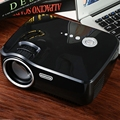 Portable EMP - GP70 Mini LED Projector FULL HD 1080P LCD Projector 1200 Lumen 800x480 HDMI/USB/AV/SD/VGA for Home Theater Cinema