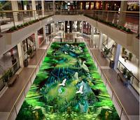 3D Wall Murals Wallpaper Floor 3d Flooring Bathroom Waterproof Floor Mural Painting PVC Waterproof Floor