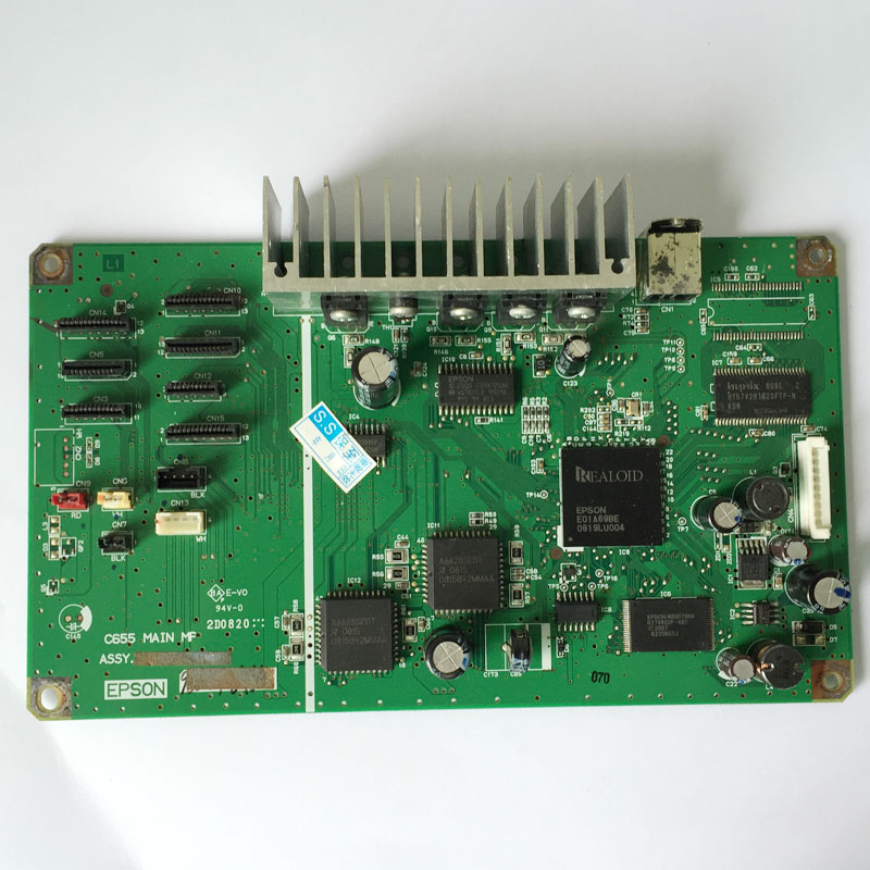 Renew Original Main board motherboard for Epson 1390 R1390 printer high quality free shipping original c670 c675 motherboard h000033480 bs r tk r main board 08na 0na1j00 50% off shipping 100% test 45 days warranty