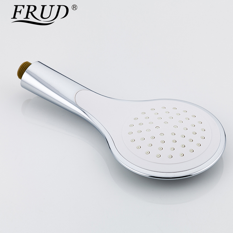 Image 3 - Frud 1Set Bathroom Rainfall Shower Faucet Mixer Tap With Hand Sprayer Wall Mounted Bath Shower system Sets Single Handle R24131-in Shower System from Home Improvement