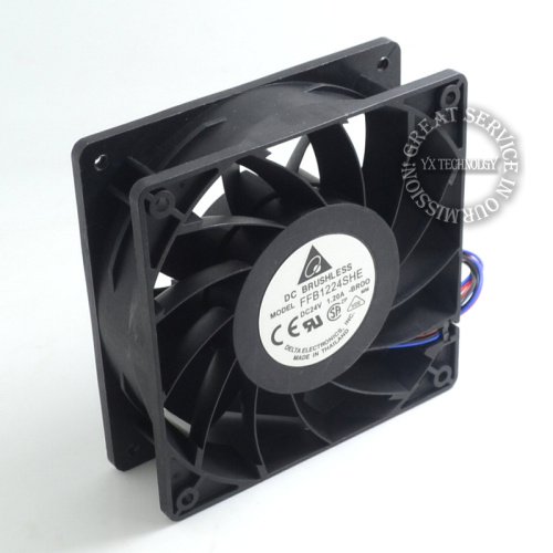 Delta New Furniture in 12038 FFB1224SHE 24 v 1.20 big air volume converter cooling fan for  120*120*38mm new original delta 12cm tha1248be 12038 48v 2 6a cooling fan