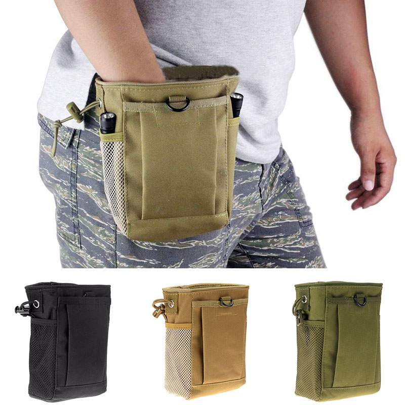 Bags Storage-Bag Pouch Magazine Dump-Belt Sundries Military-Molle Utility Tactical