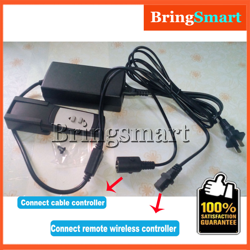 ФОТО Wholesale 110v 200-240v to 24v Power supply / Power Adapter for Linear Actuator Remote Wireless Controller