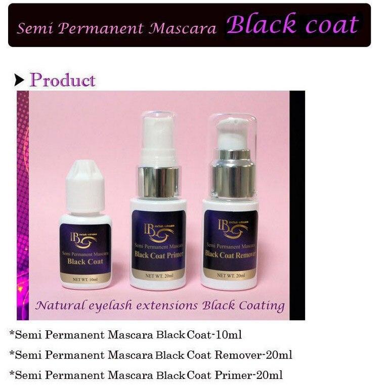 Semi Permanent Mascara Lash Coat Black Coat Primer Remover 1 Pcs/Lot  Free Shipping