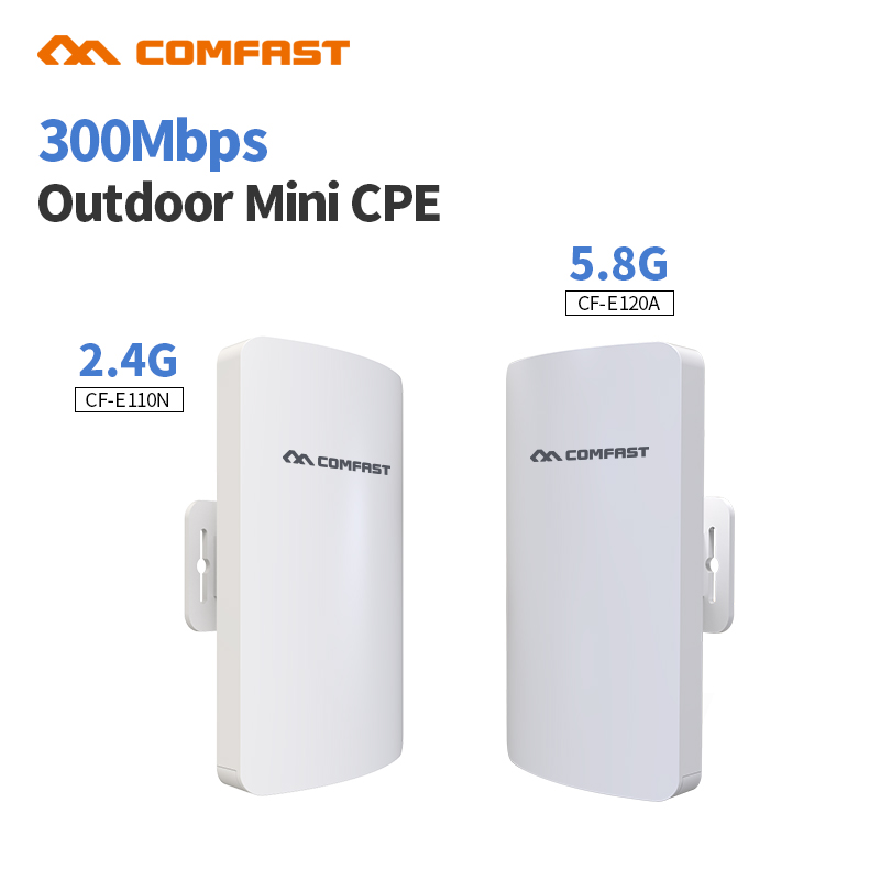 2.4 & 5G Outdoor Wireless Wifi Repeater CPE 300Mbps Network Wifi Extender Signal Amplifier Antenna Booster Repetidor Wifi Bridge 2 4ghz 8w wlan wifi wireless broadband amplifier signal booster for rc radio extend the distance