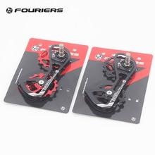 Fouriers Ceramic Rear Derailleur Cage Big Pulley Jockey Road Bike Drivetrain Oversize Double 15T For 5800