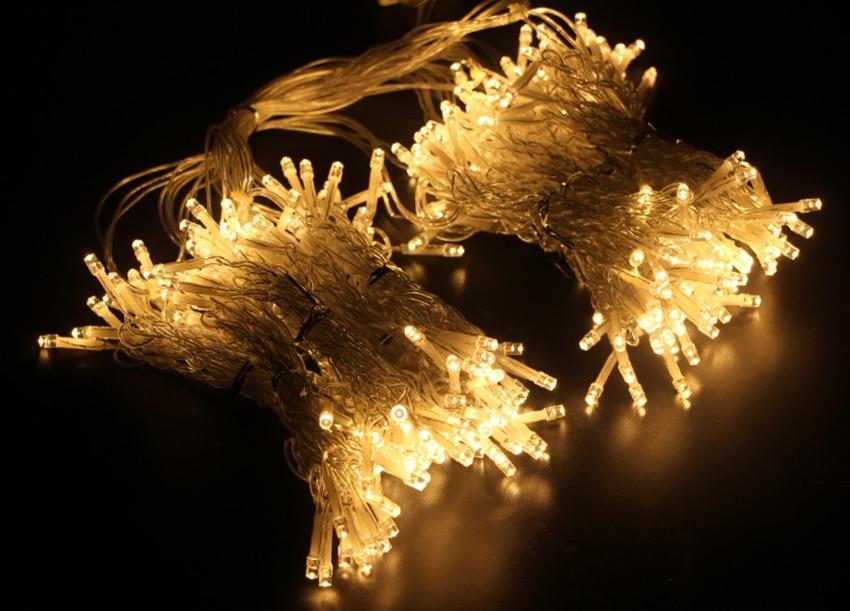 2/3/6 м Пульт дистанционного управления светодиодный занавес гирляндой Строка Рождественский светодиодный Патио вечерние свадебные украшения окна наружные огни для нового года
