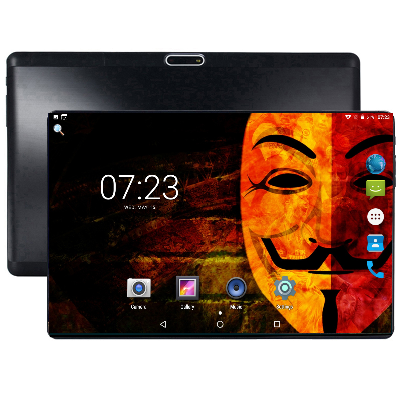 Original Tablet 10 inch Android 8.0 Octa Core 3G 4G LTE Smartphone Tablets 64GB IPS WIFI Bluetooth GPS mini PC