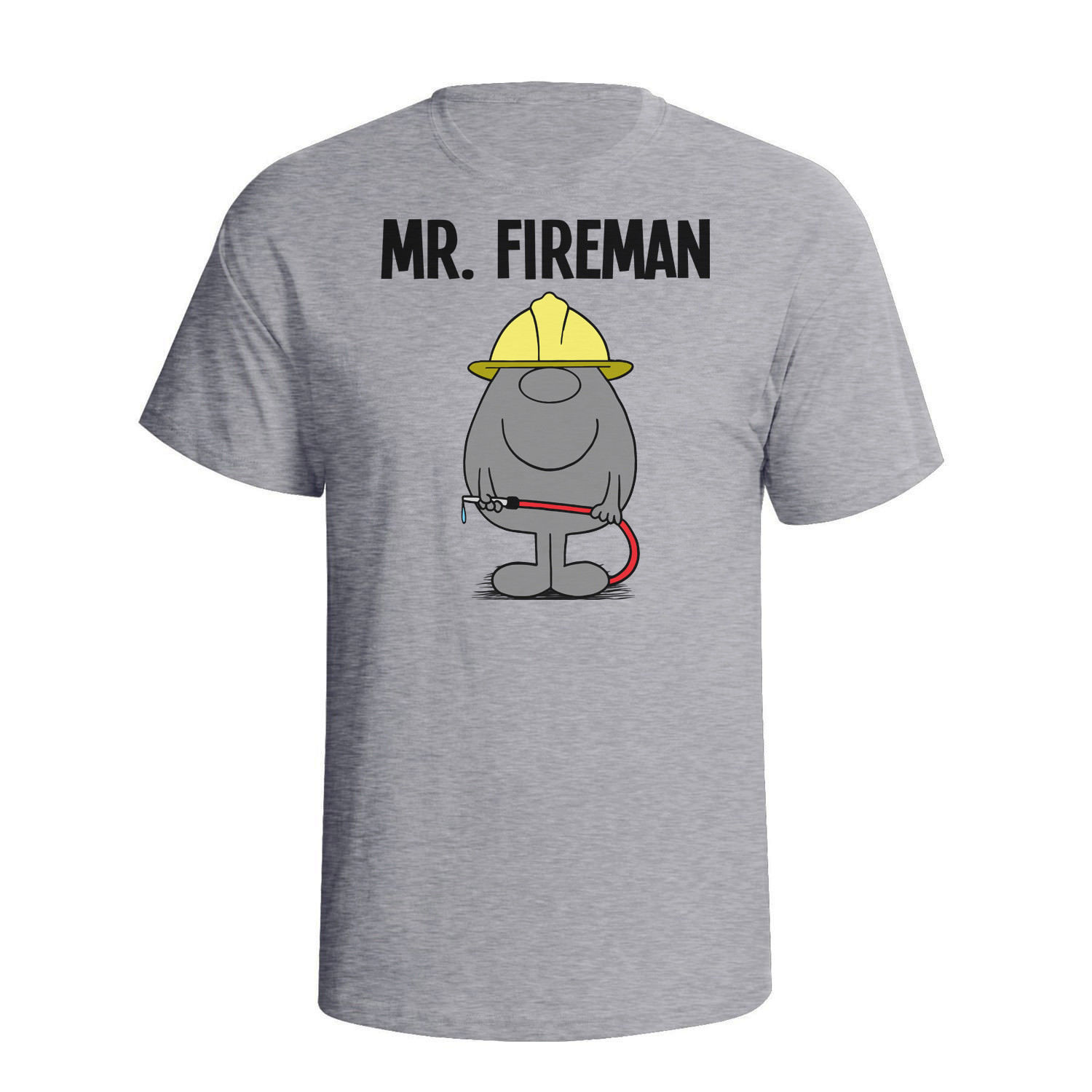 Mr FIREMAN Firefighter Mens T-Shirt Christmas Fathers Day Gift Birthday