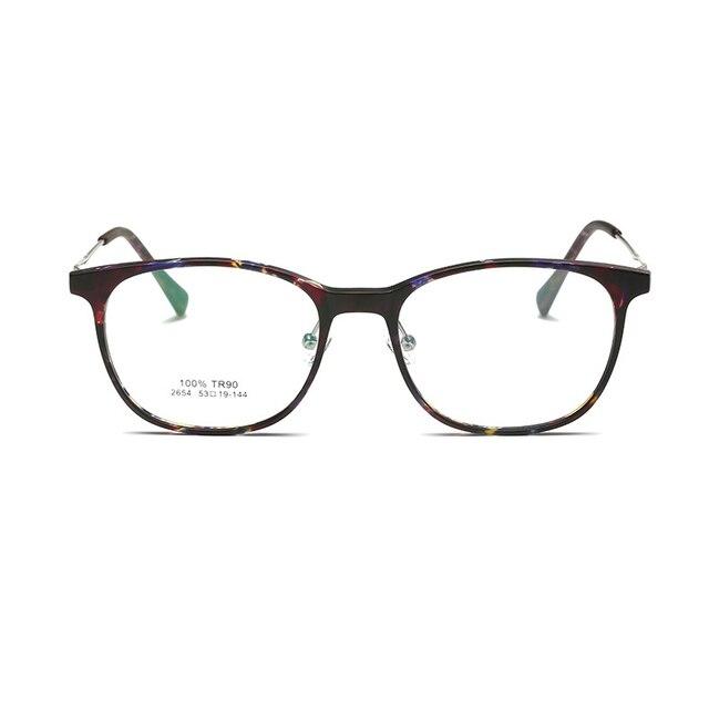 Мужская оптический очки кадр очки кадры для женщин компьютер ясно мода очки круглые очки корейские очки кадров 2654
