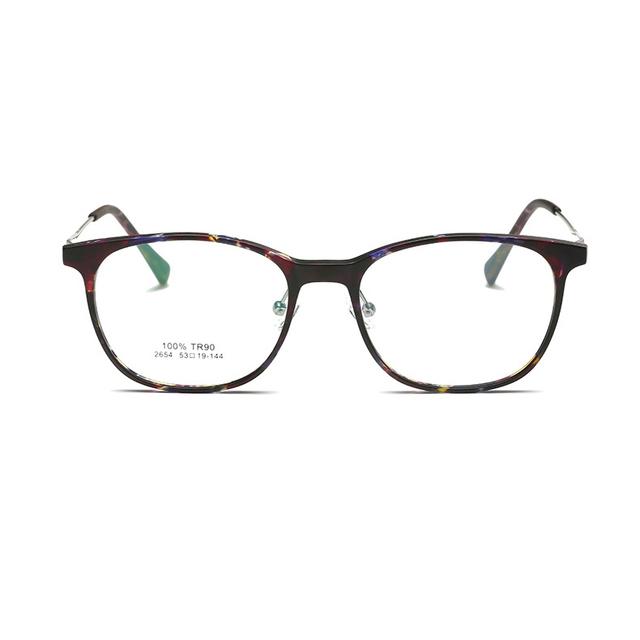 Homens vidros ópticos enquadrar armações de óculos de olho para as mulheres computador óculos de forma clara óculos redondos óculos coreano quadros 2654